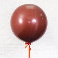 Шар гигант «№14» Шоколад 61см