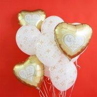 Композиция из шаров С Днём Свадьбы №1007