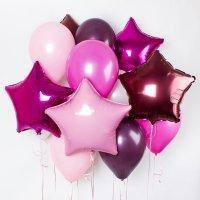 Композиция из воздушных шаров «Фуше» №166