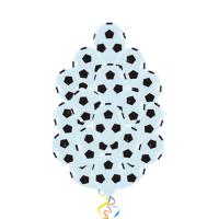 Облако из шаров с гелием «Футбольный мяч»