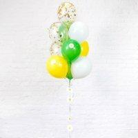 Композиция из воздушных шаров «Конфетти» №57