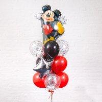 Композиция из воздушных шаров «Микки» №42