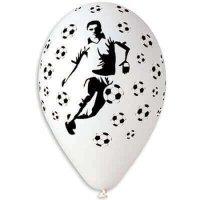 Шары с гелием футболист с футбольными мячами, мяч 36см