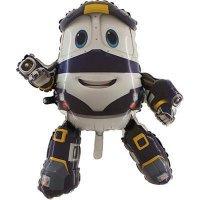 Шар фигура Роботы-Поезда Кей, 88см