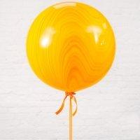 Большой шар «№2» Оранжевый 61см