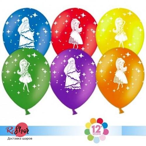 Гелиевые шары с рисунком «Красавицы ассорти»