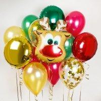 Композиция из воздушных шаров «Олень» №9