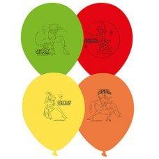 Воздушные шары с гелием леди баг и супер кот, ассорти 30см