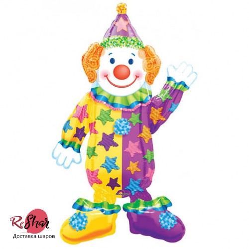 Ходячий шар «Клоун» (112см.)