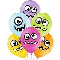 Воздушные шары с гелием Забавные монстрики 36см