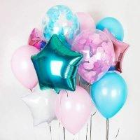 Композиция из воздушных шаров «Ассорти для мальчика» №158