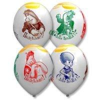 Воздушные шары с гелием Малыш и Карлсон 36см