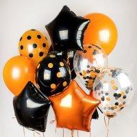 Композиция из воздушных шаров «Хэллоуин» №11