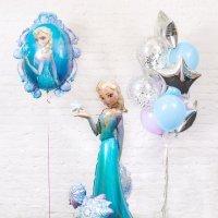 Композиция из воздушных шаров «Холодное сердце» №119