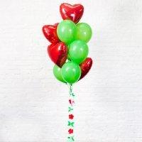 Композиция из воздушных шаров «Осенняя любовь» №55