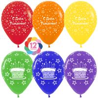 Гелиевые шары «Торт с Днём Рождения»