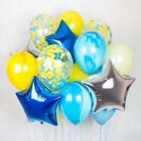 Композиция из шаров «Яркое настроение» №15